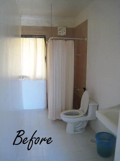 Guest Bathroom Gets a Budget Makeover: Before & After: gallery slide thumbnail 5