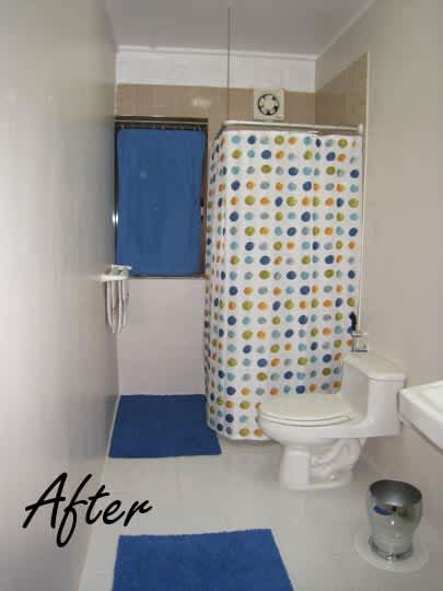 Guest Bathroom Gets a Budget Makeover: Before & After: gallery slide thumbnail 4