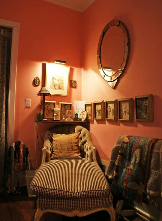 Sally's French-Glam Hyde Park Home: gallery slide thumbnail 5