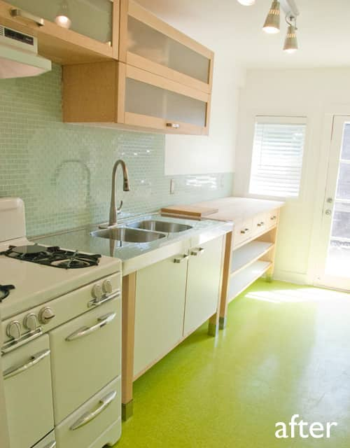 Before & After: My Cheap, Green Kitchen Remodel: gallery slide thumbnail 2