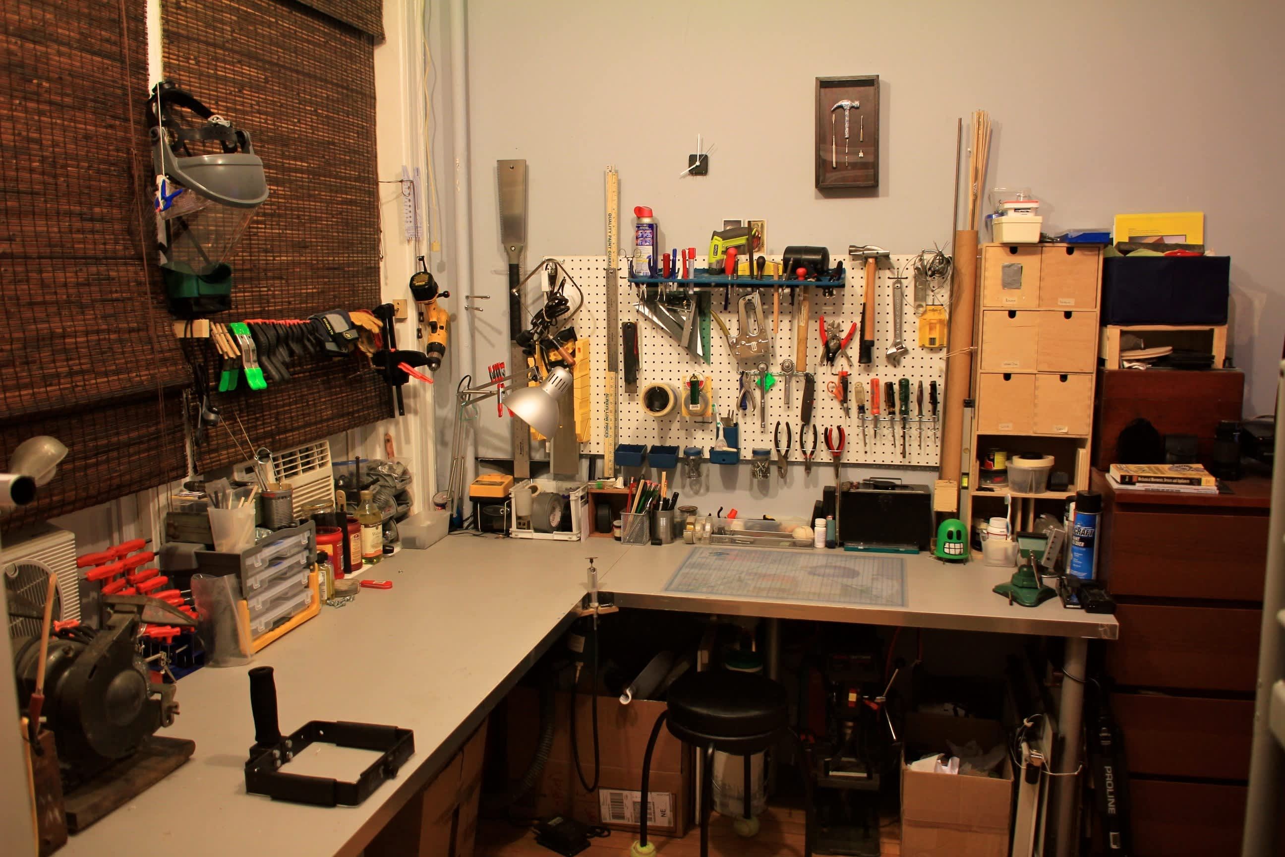 A Builder's One Bedroom Workshop: gallery slide thumbnail 6
