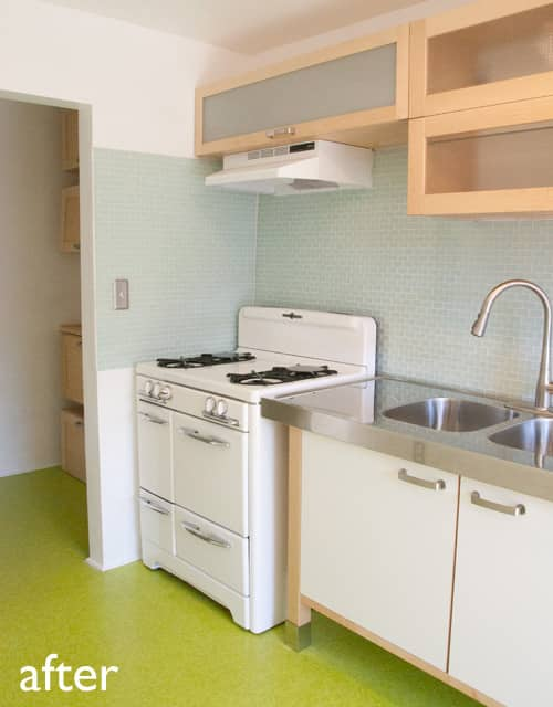 Before & After: My Cheap, Green Kitchen Remodel: gallery slide thumbnail 3