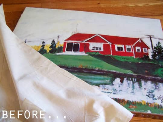 Before & After: Thrift Store Painting Transformed: gallery slide thumbnail 3