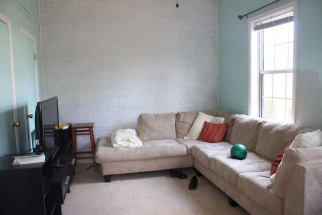 Before & After: Den Makeover On an Extreme Budget: gallery slide thumbnail 1
