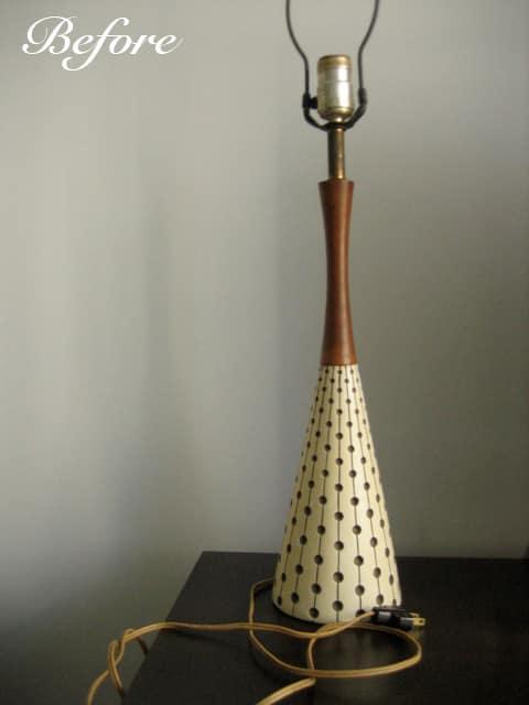 Mid Century Lamp Makeover: gallery slide thumbnail 3