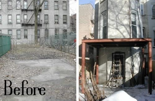 Before & After: 4 City Gardens: gallery slide thumbnail 4