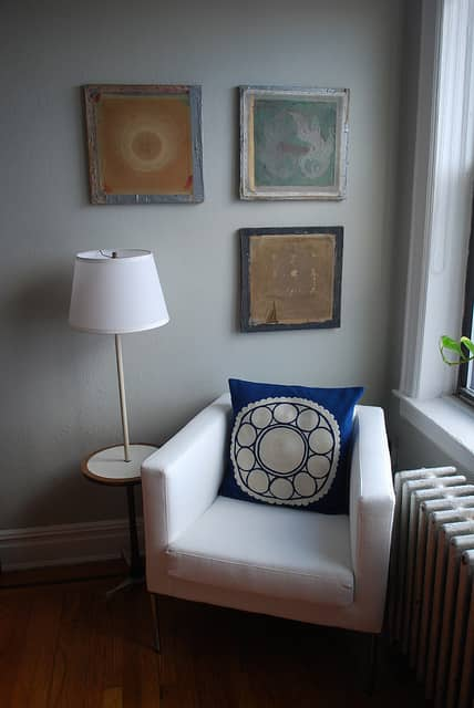 AJ & Alex's Eclectic Shabby Chic Queens Apartment: gallery slide thumbnail 8