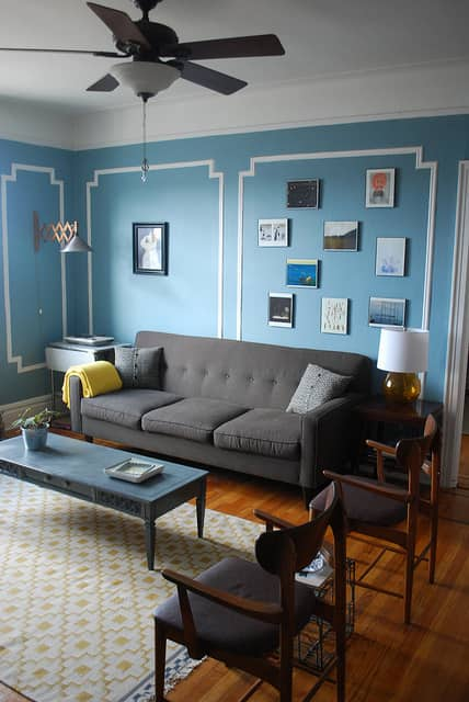 AJ & Alex's Eclectic Shabby Chic Queens Apartment: gallery slide thumbnail 2