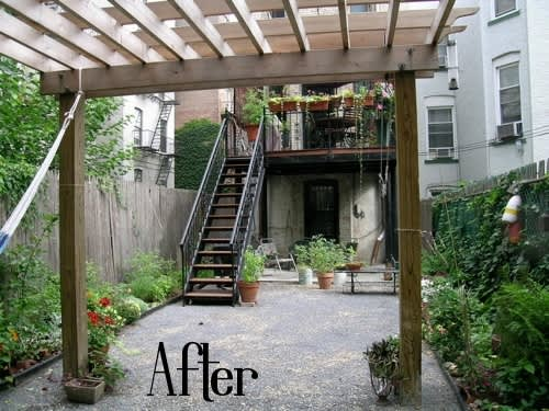Before & After: 4 City Gardens: gallery slide thumbnail 2