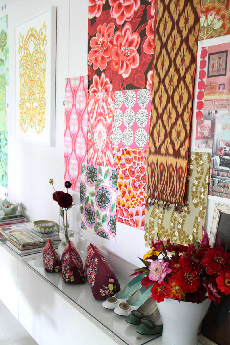 Amy & David Butler's Creative Textile Lab of a Home: gallery image 42