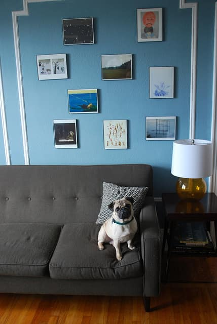 AJ & Alex's Eclectic Shabby Chic Queens Apartment: gallery slide thumbnail 9