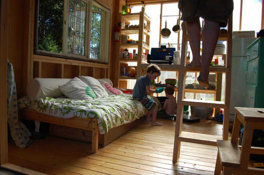 Four People (and a Dog) Living in 180 Square Feet: gallery slide thumbnail 11