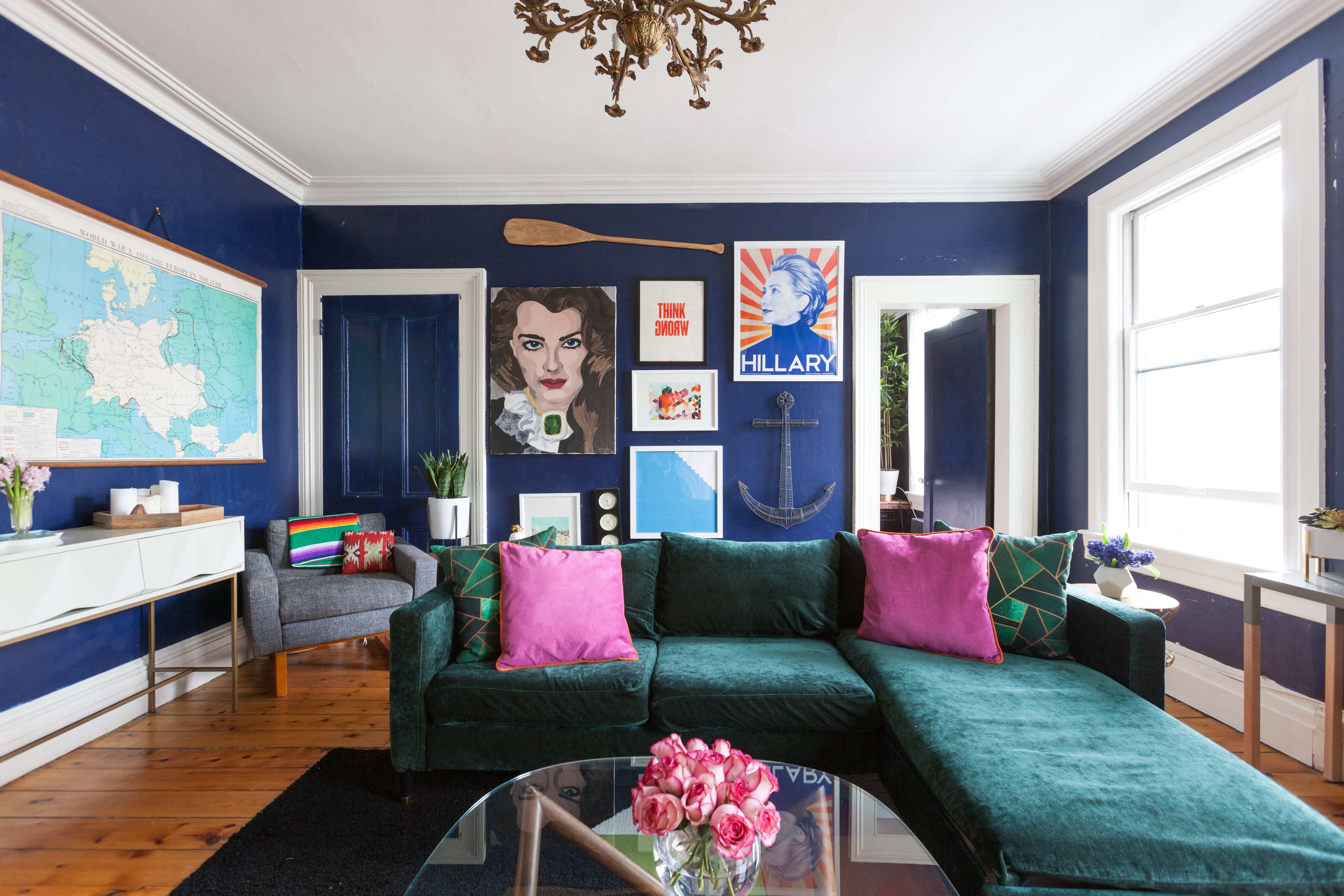 Trick of the Trade: Sectional Sofas in Small Spaces   Apartment Therapy
