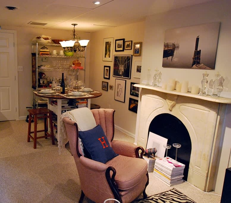 Jamie's Laid-Back Chic Small Space