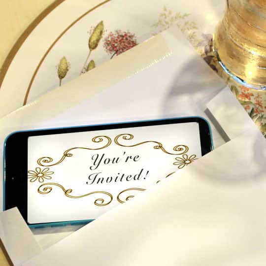 6 Ways To Send Party Invitations Right From Your Phone