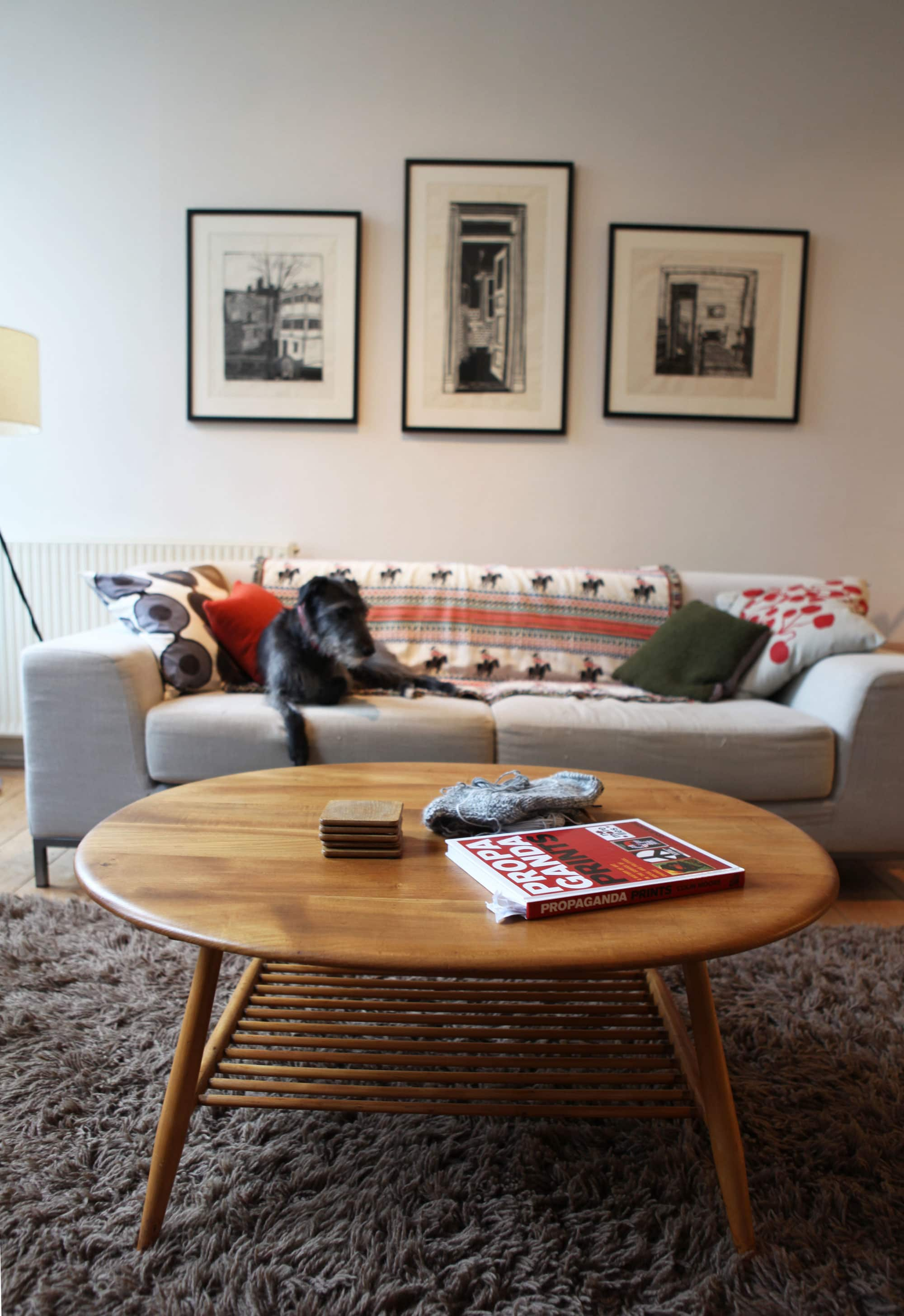 Lesley's Cozy Cool UK Coastal Home: gallery image 8