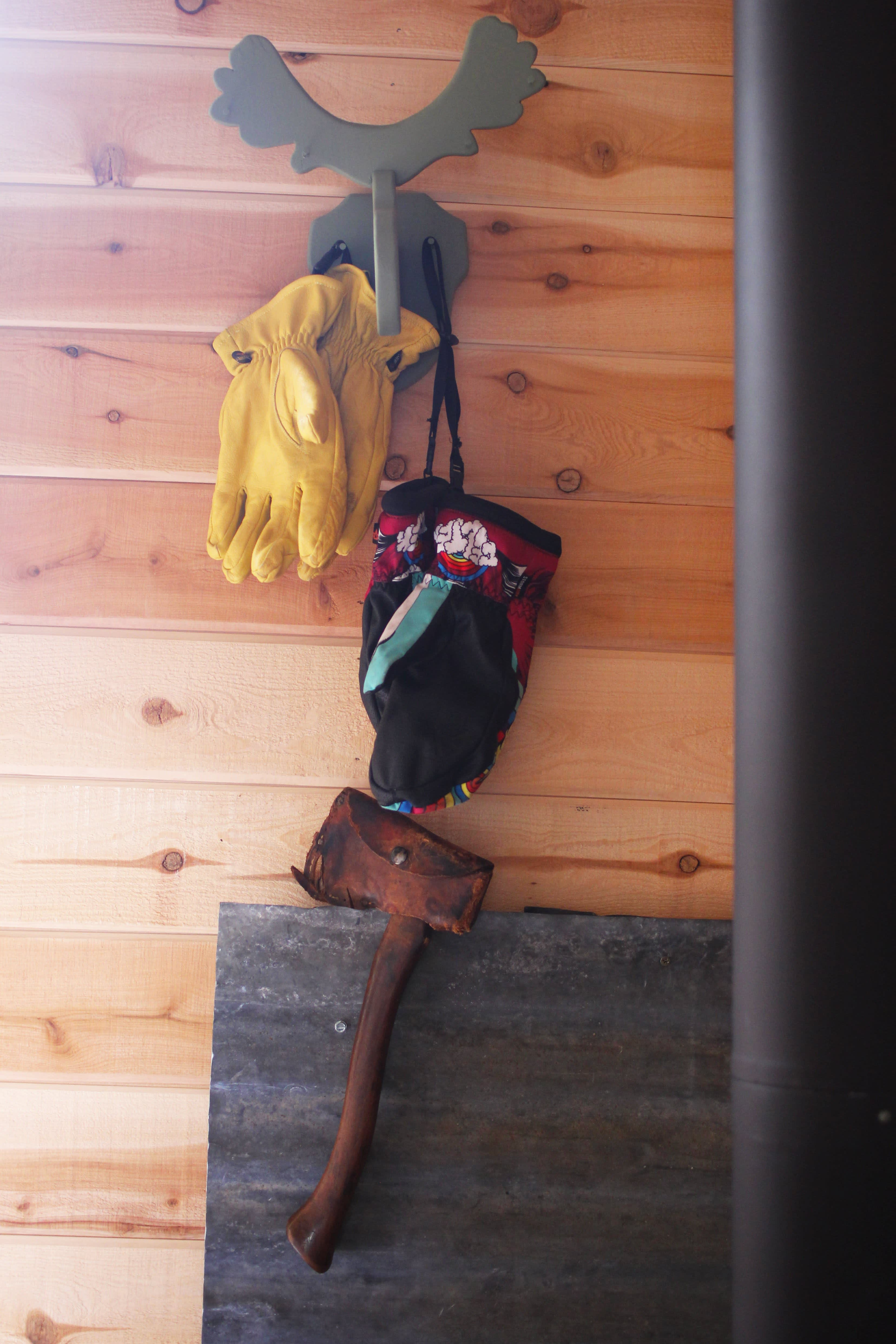 Tim and Hannah's Affordable DIY Self-Sustainable Micro Cabin: gallery slide thumbnail 33