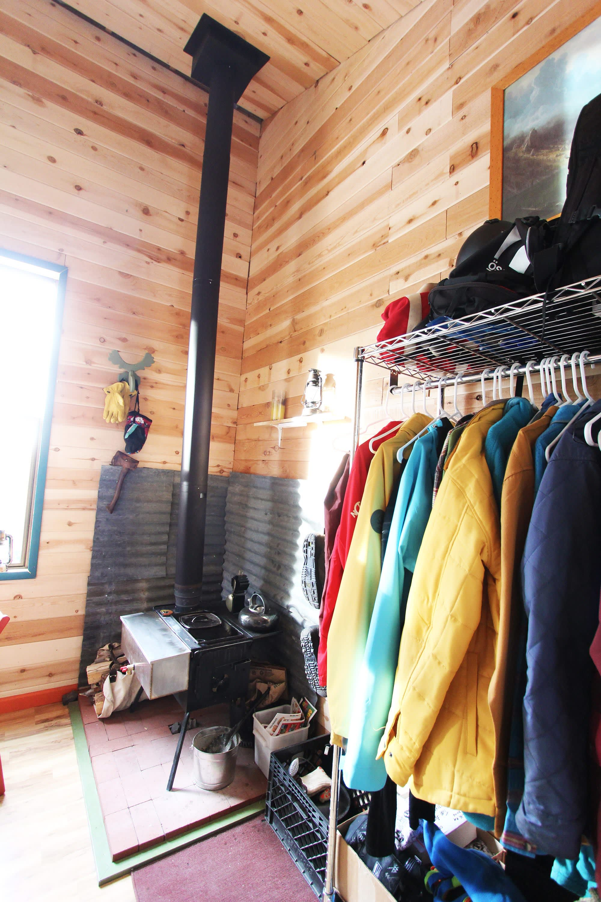 Tim and Hannah's Affordable DIY Self-Sustainable Micro Cabin: gallery slide thumbnail 30