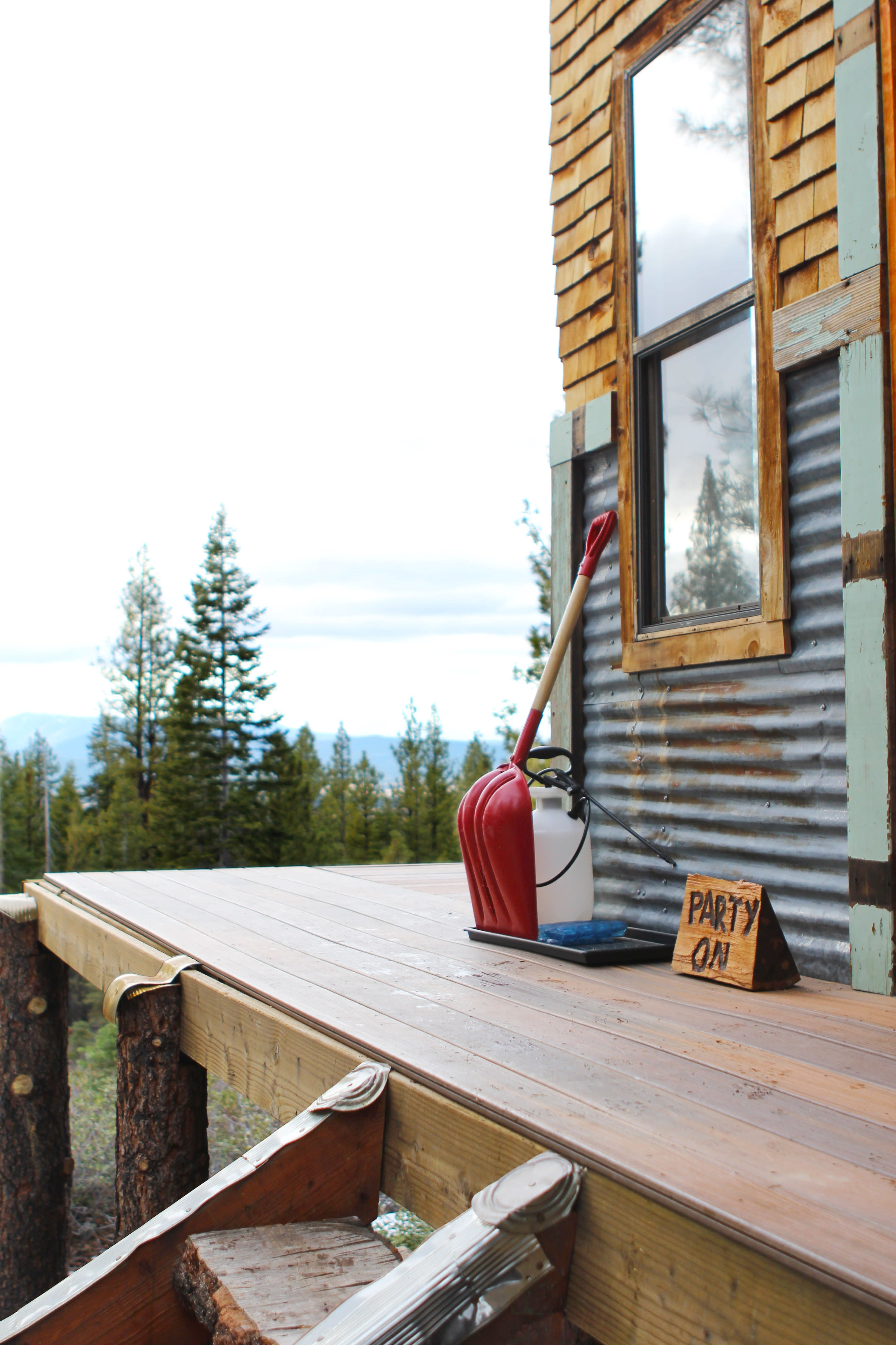 Tim and Hannah's Affordable DIY Self-Sustainable Micro Cabin: gallery slide thumbnail 7