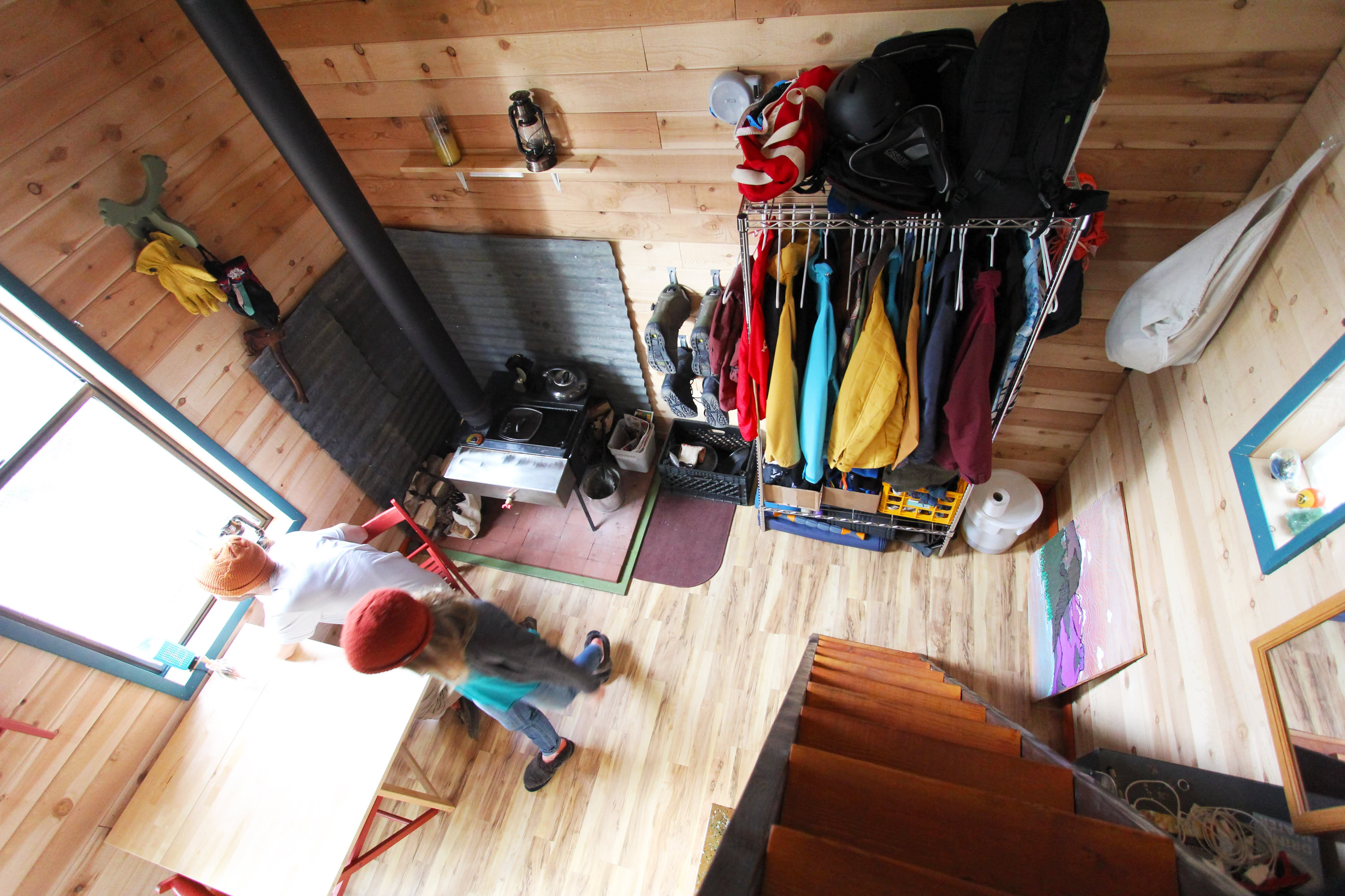 Tim and Hannah's Affordable DIY Self-Sustainable Micro Cabin: gallery slide thumbnail 35