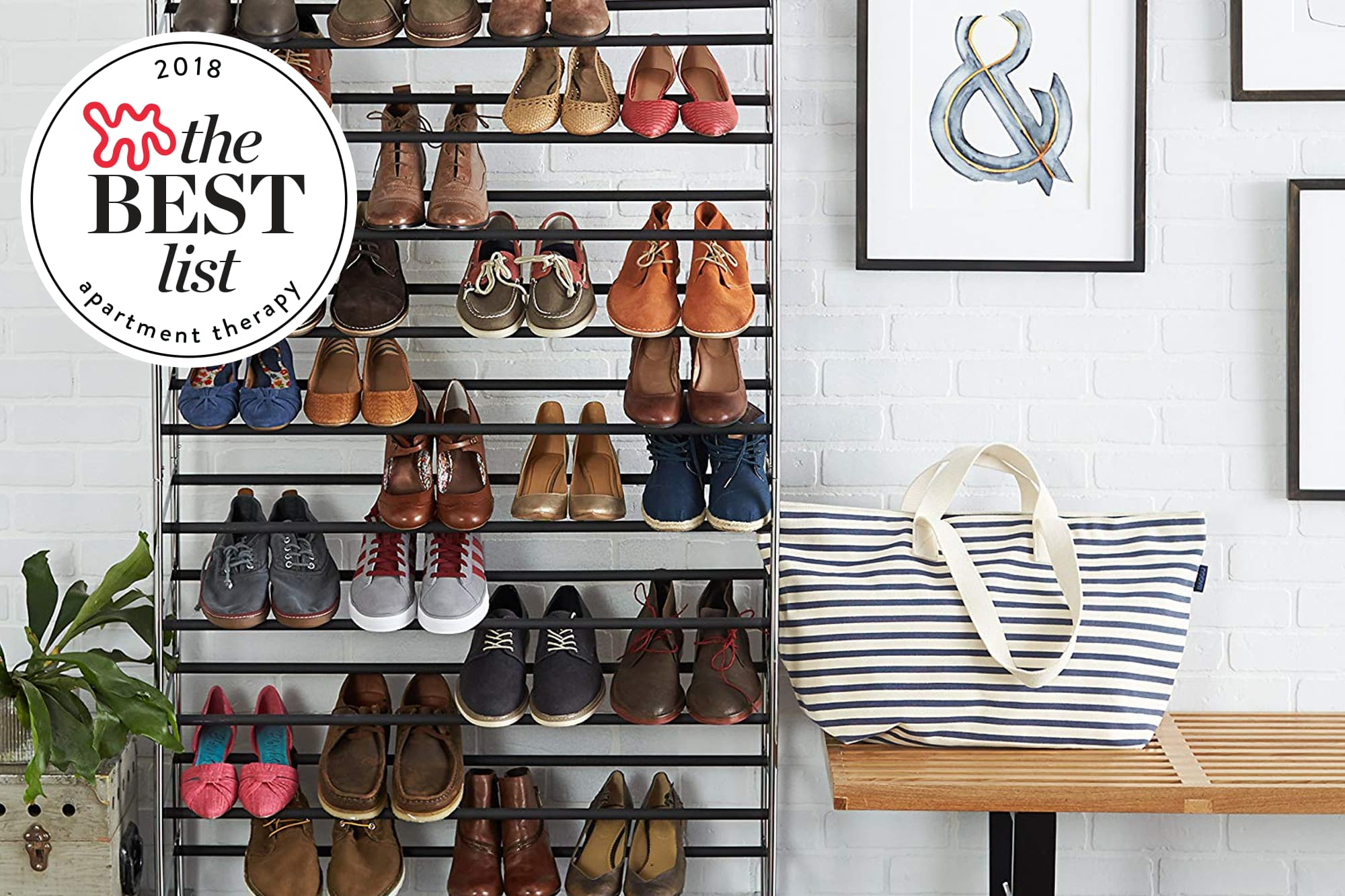 The 10 Best Solutions for Shoe Storage  64b170f9f18b