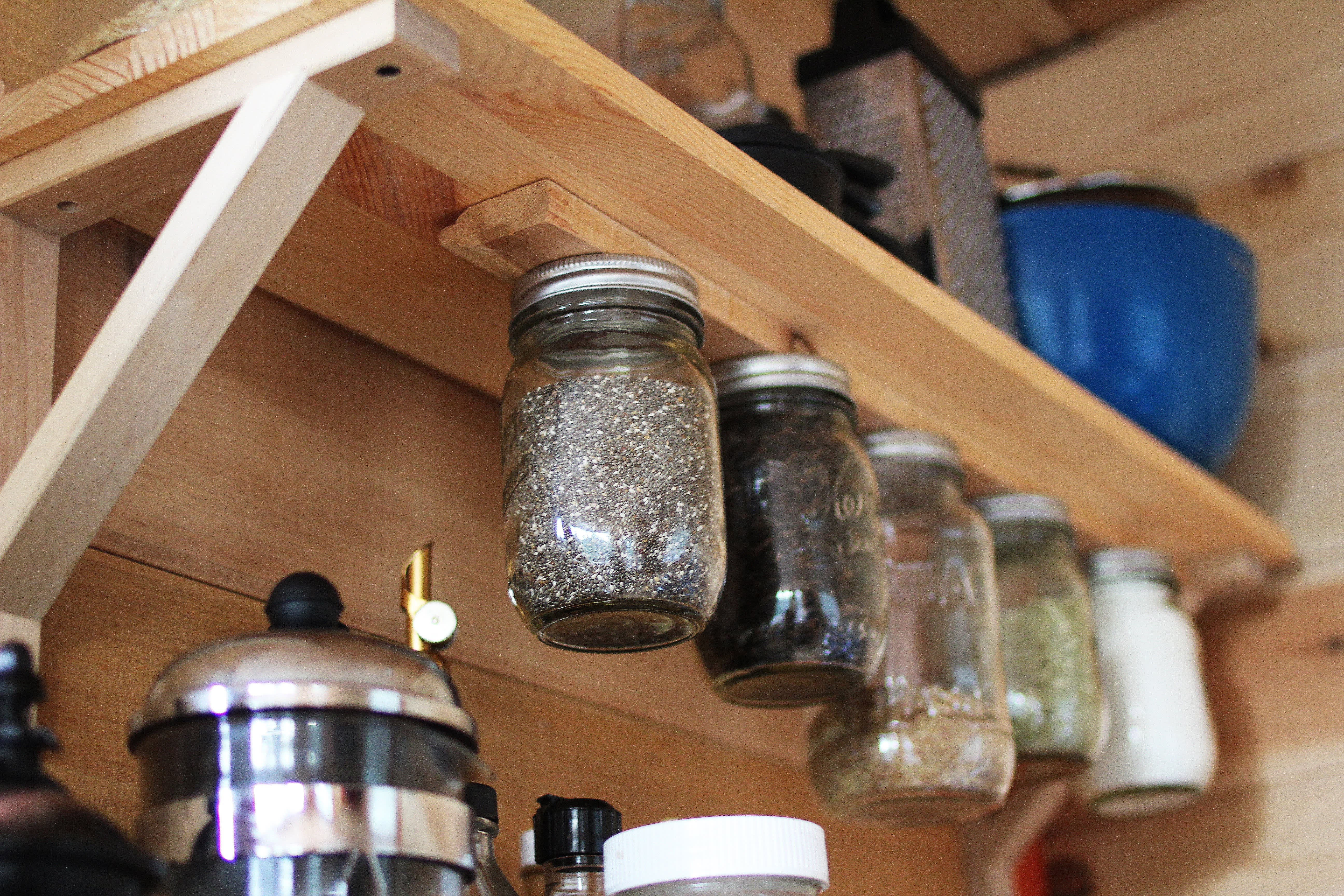 Tim and Hannah's Affordable DIY Self-Sustainable Micro Cabin: gallery slide thumbnail 24