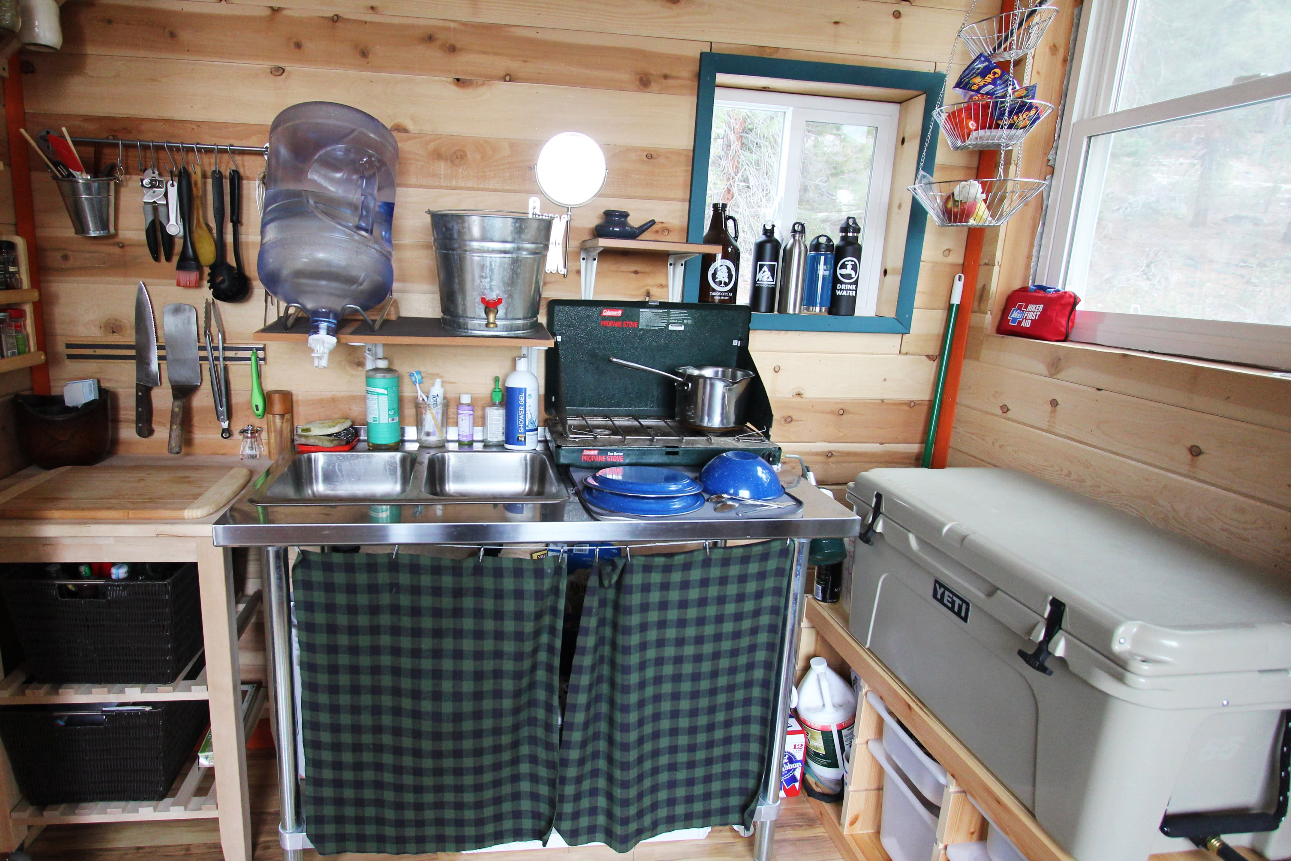 Tim and Hannah's Affordable DIY Self-Sustainable Micro Cabin: gallery slide thumbnail 22