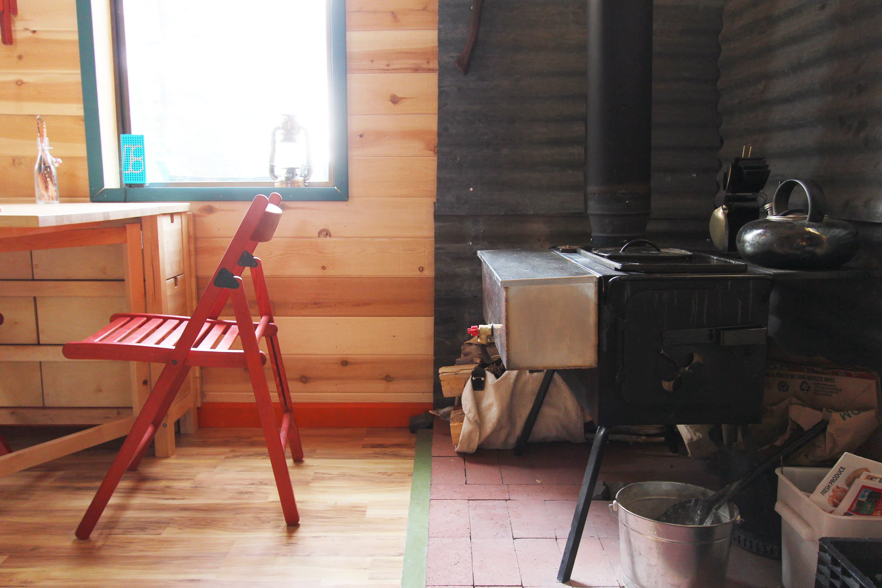 Tim and Hannah's Affordable DIY Self-Sustainable Micro Cabin: gallery slide thumbnail 29