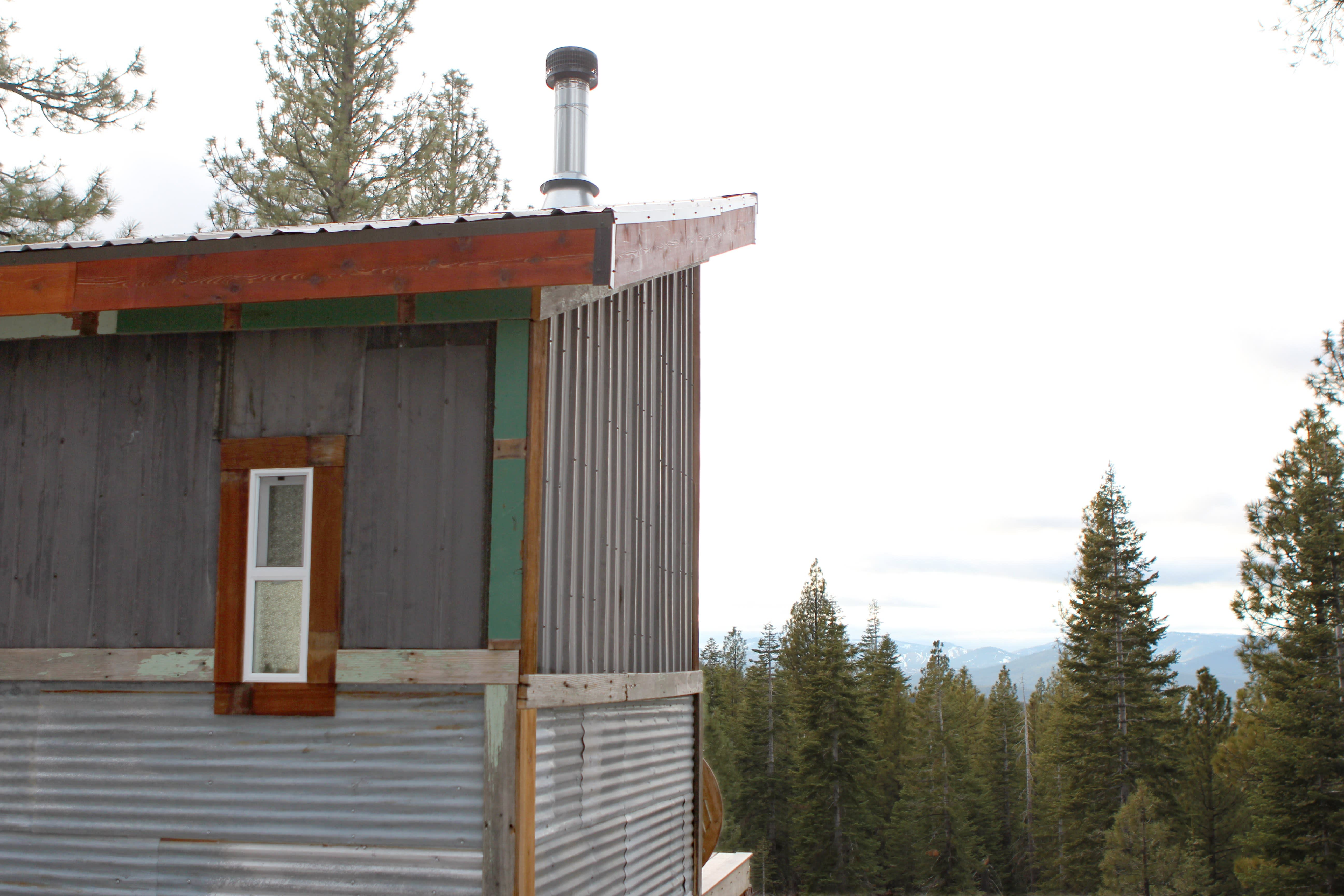 Tim and Hannah's Affordable DIY Self-Sustainable Micro Cabin: gallery slide thumbnail 3