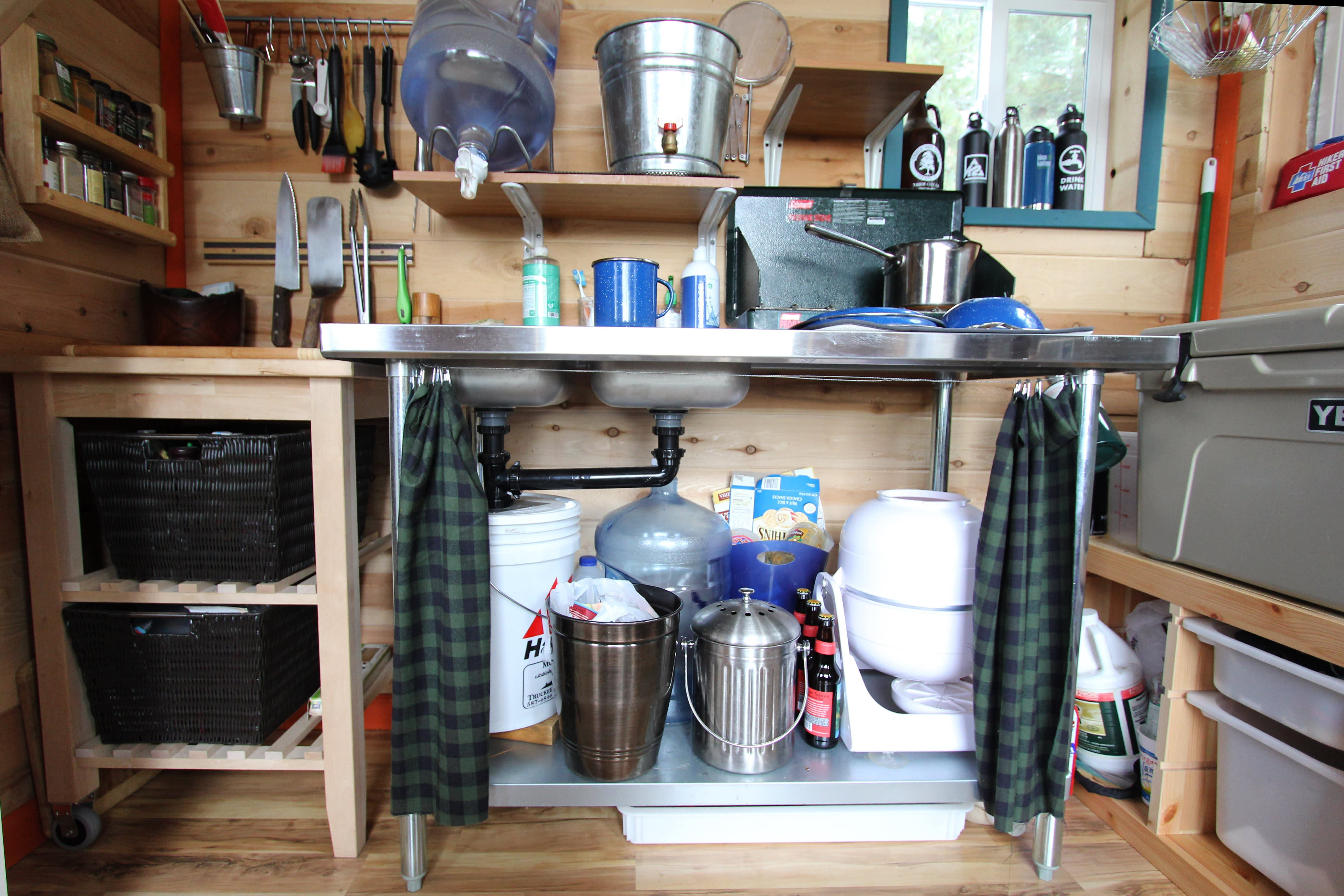Tim and Hannah's Affordable DIY Self-Sustainable Micro Cabin: gallery slide thumbnail 23