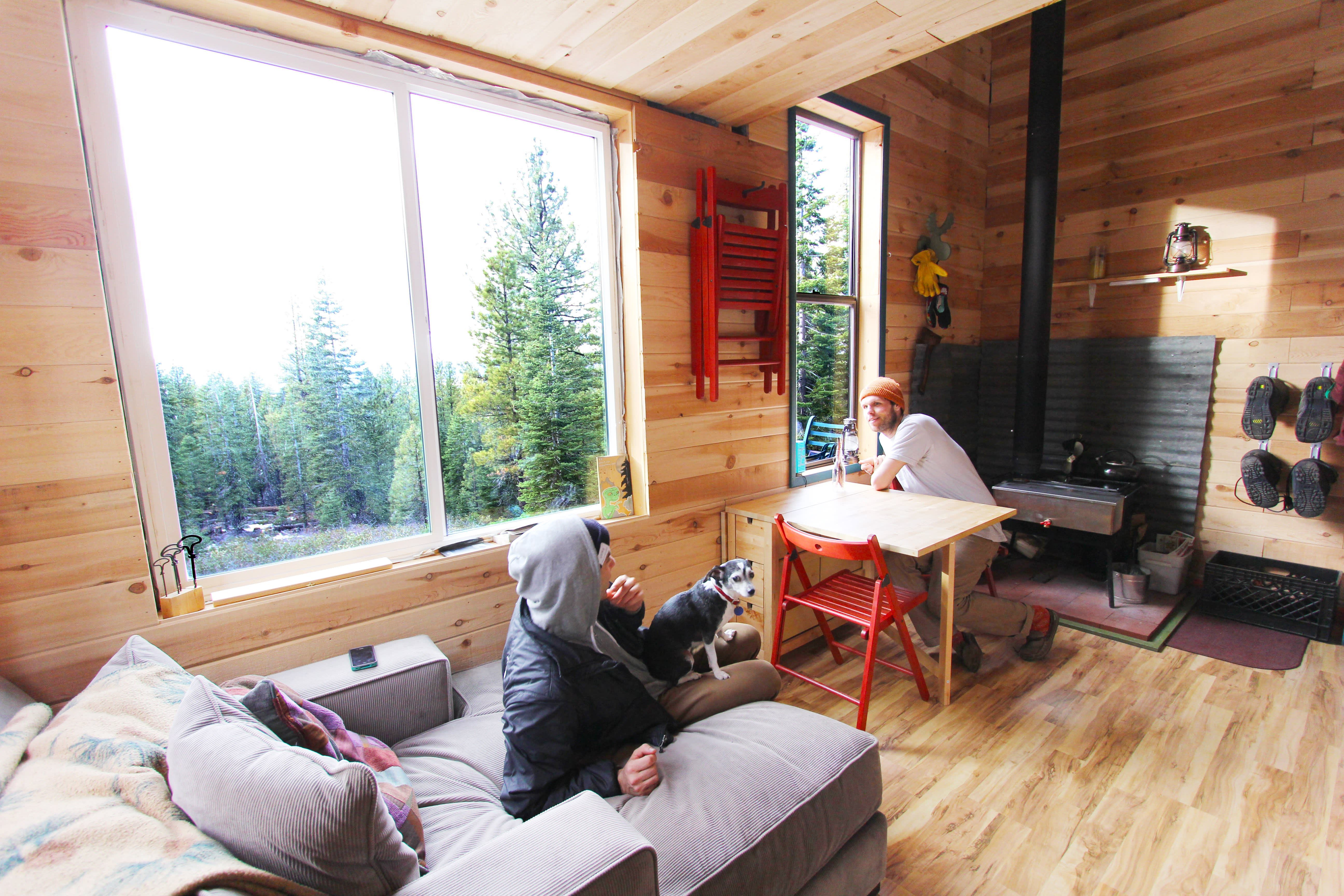 Tim and Hannah's Affordable DIY Self-Sustainable Micro Cabin: gallery slide thumbnail 18