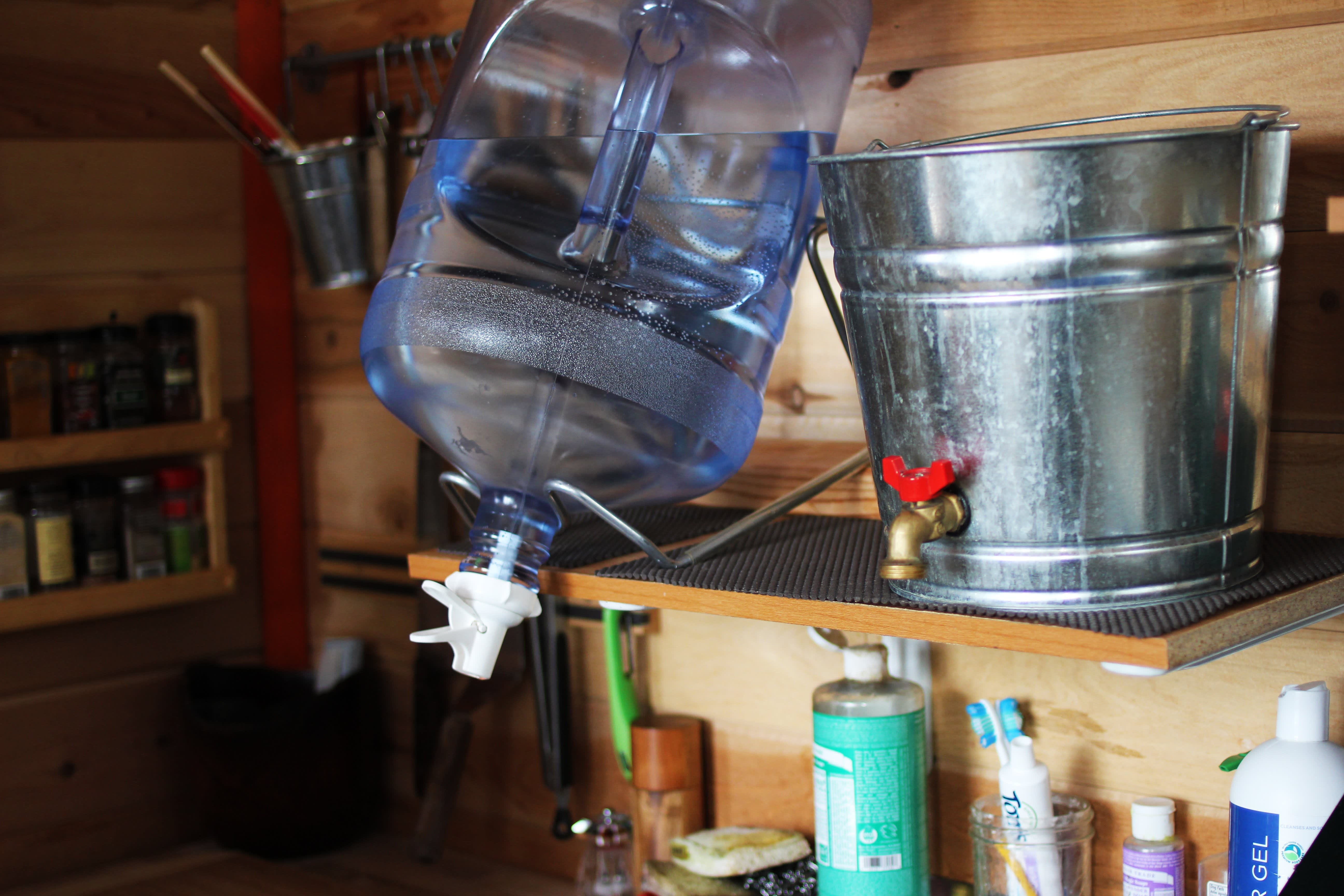 Tim and Hannah's Affordable DIY Self-Sustainable Micro Cabin: gallery slide thumbnail 26