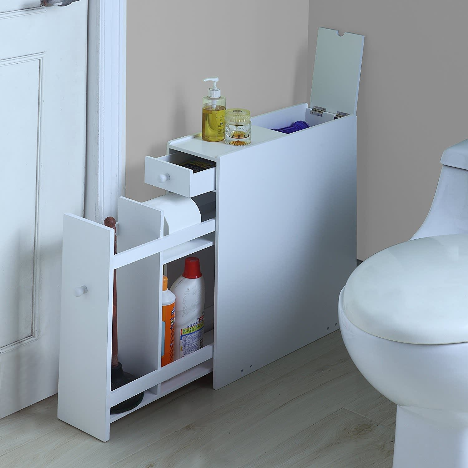 Apartment Bathroom Ideas: Storage For Small Bathrooms
