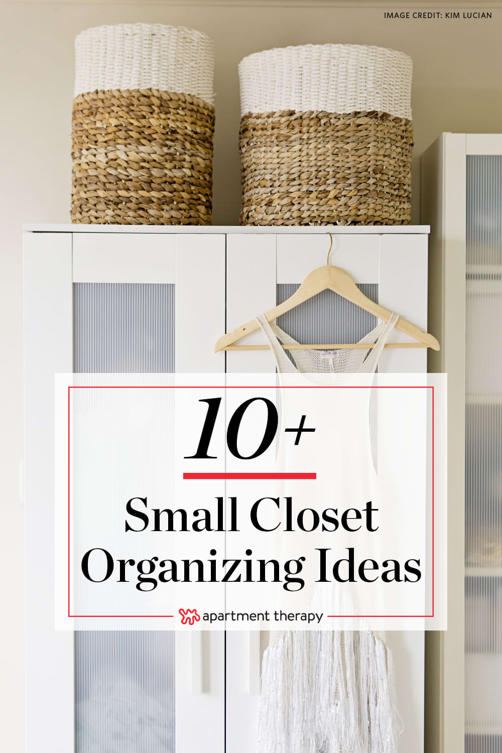Closet Storage Ideas - Small Closet Organization | Apartment Therapy
