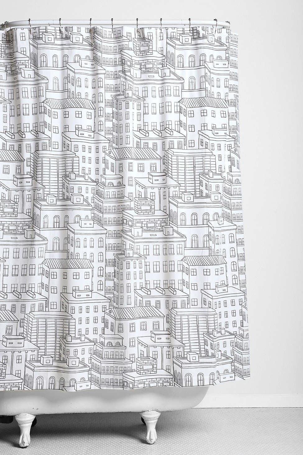 Good Deals 12 Stylish Shower Curtains