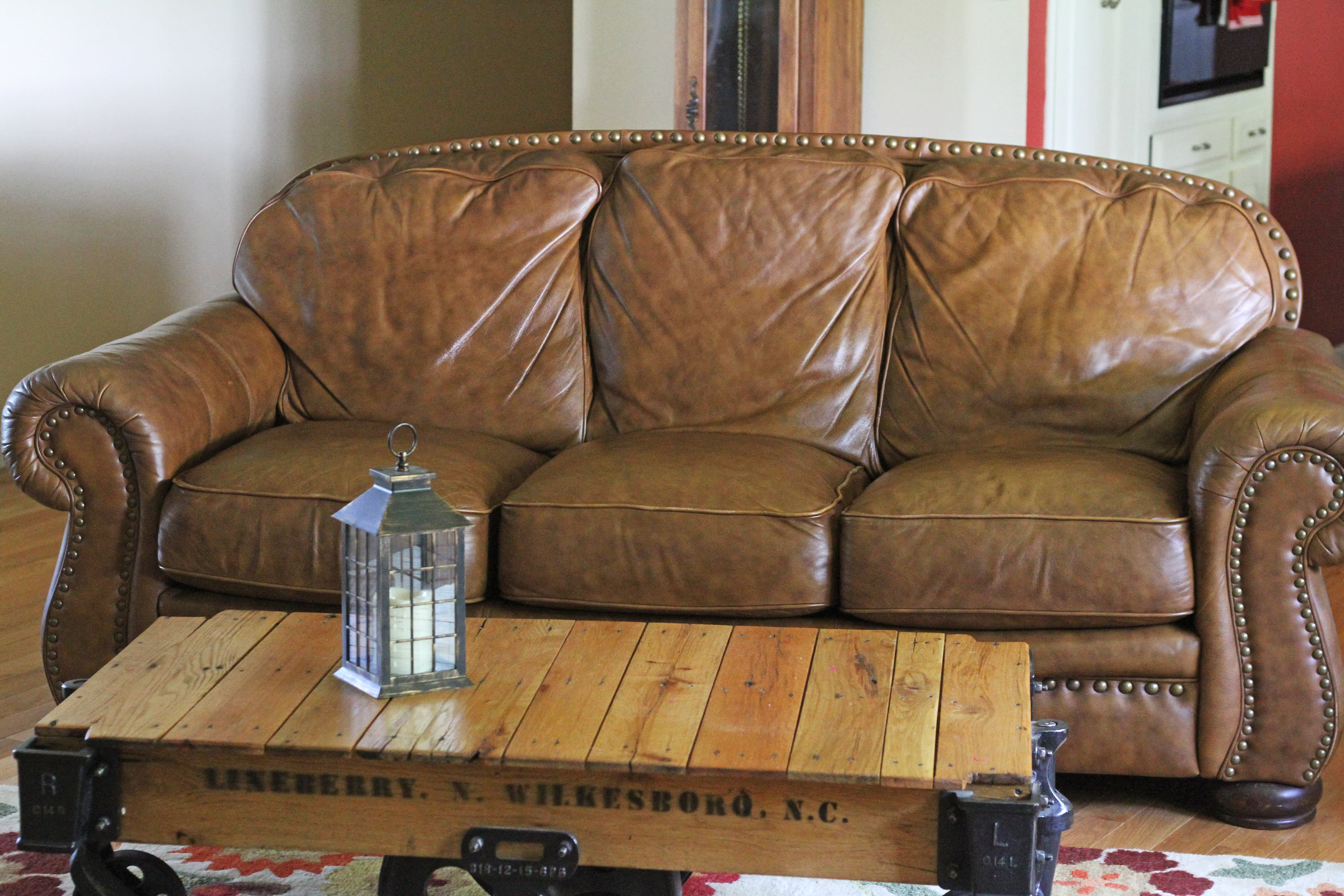 How To Plump Up An Old Saggy Sofa For Around 40 Apartment Therapy