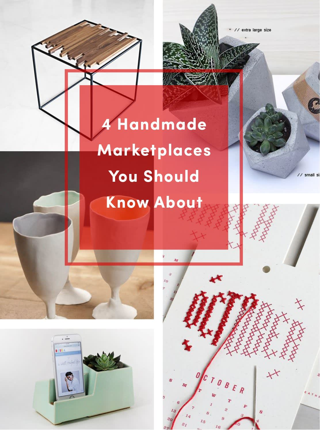 Shopping Guide: 4 Online Handmade Marketplaces Other Than Etsy That You Should Know About