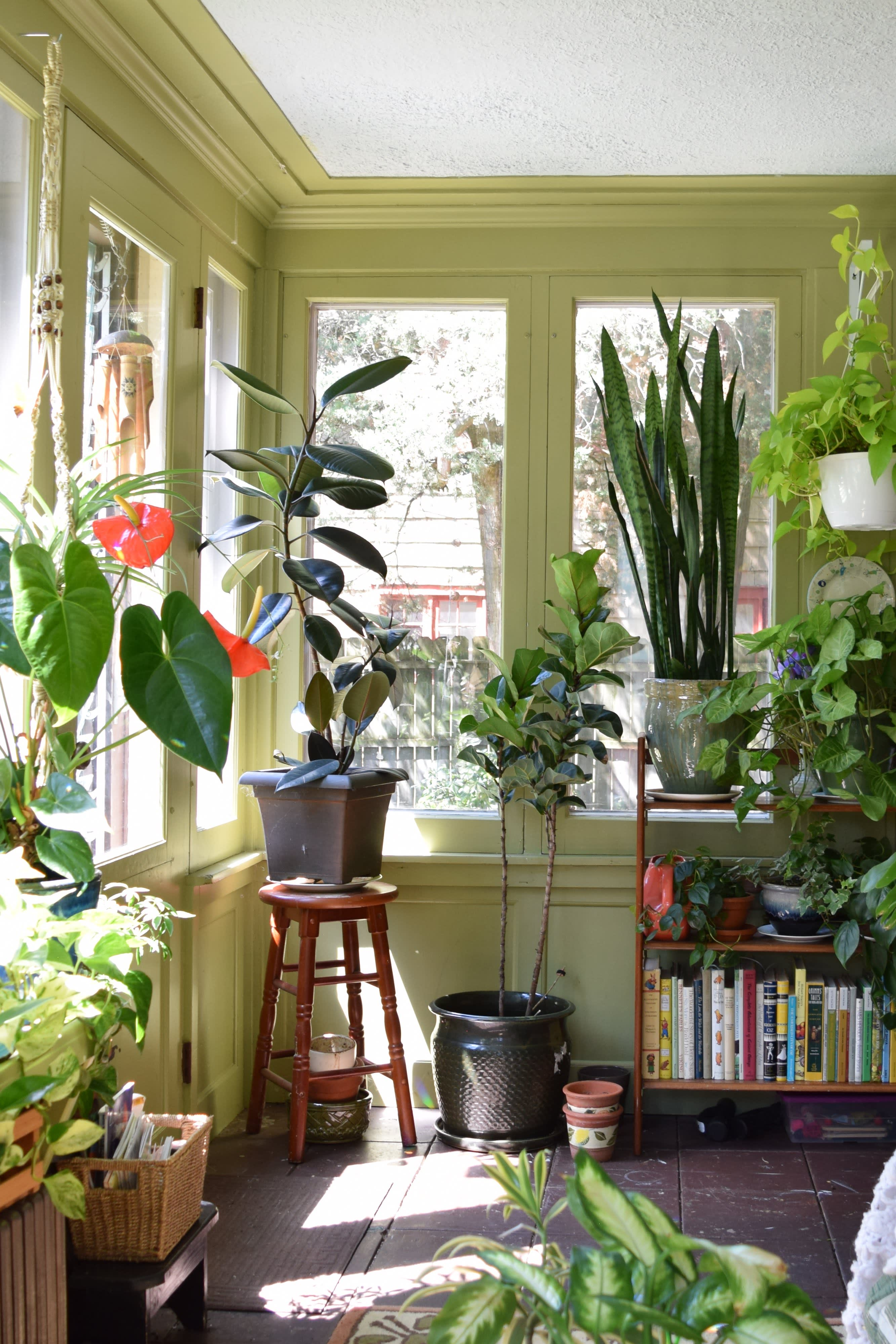 4 Ways To Put Your Sunroom To Work Apartment Therapy