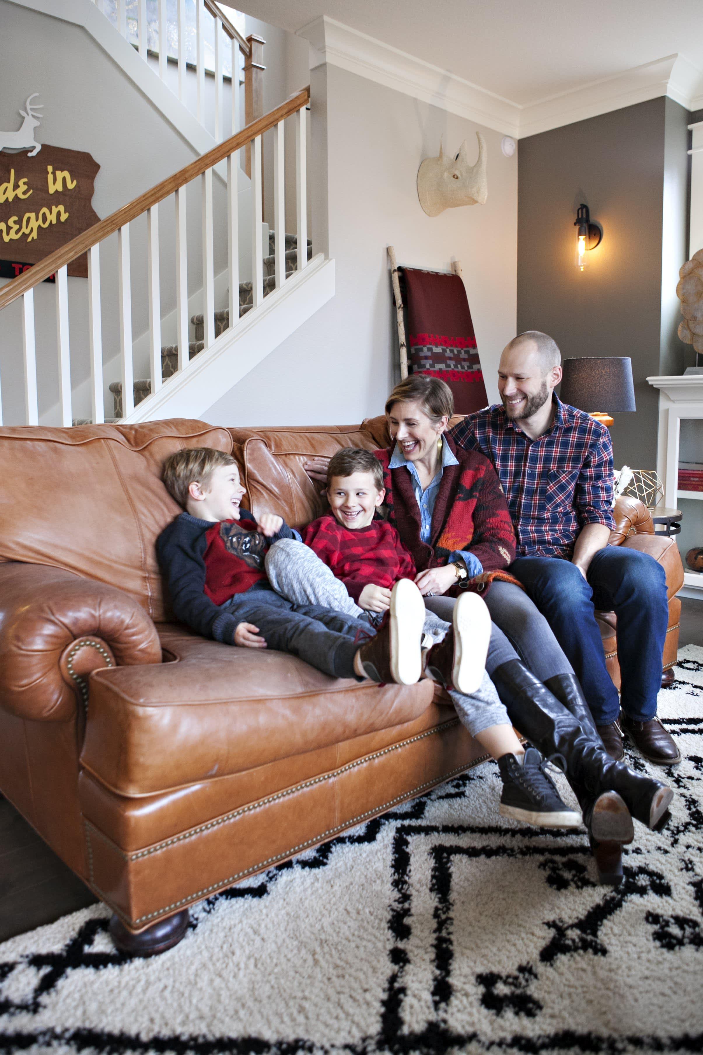 House Tour A Rustic Amp Modern Portland Family Home
