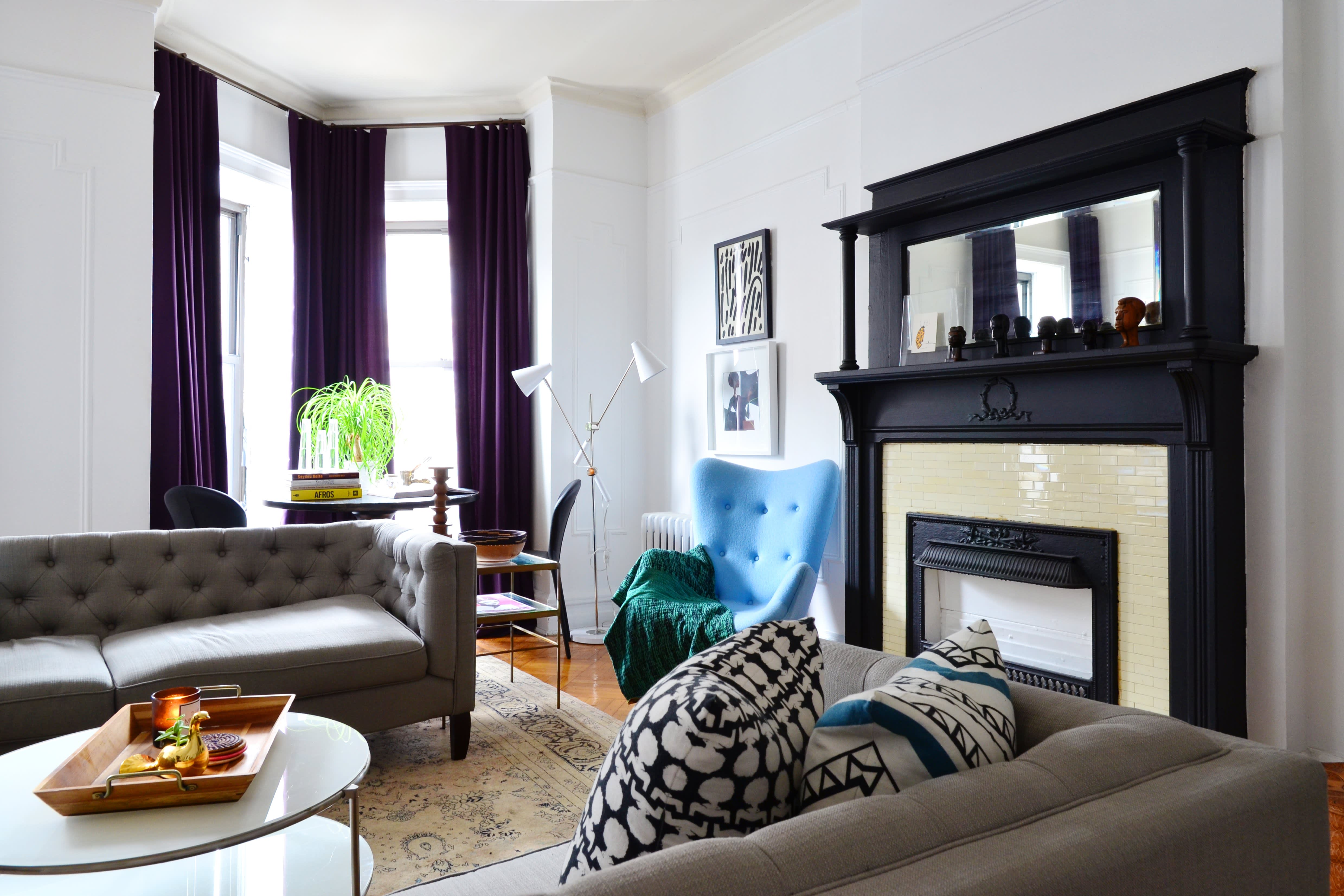 Why You Should Face Sofas To Save Space Apartment Therapy