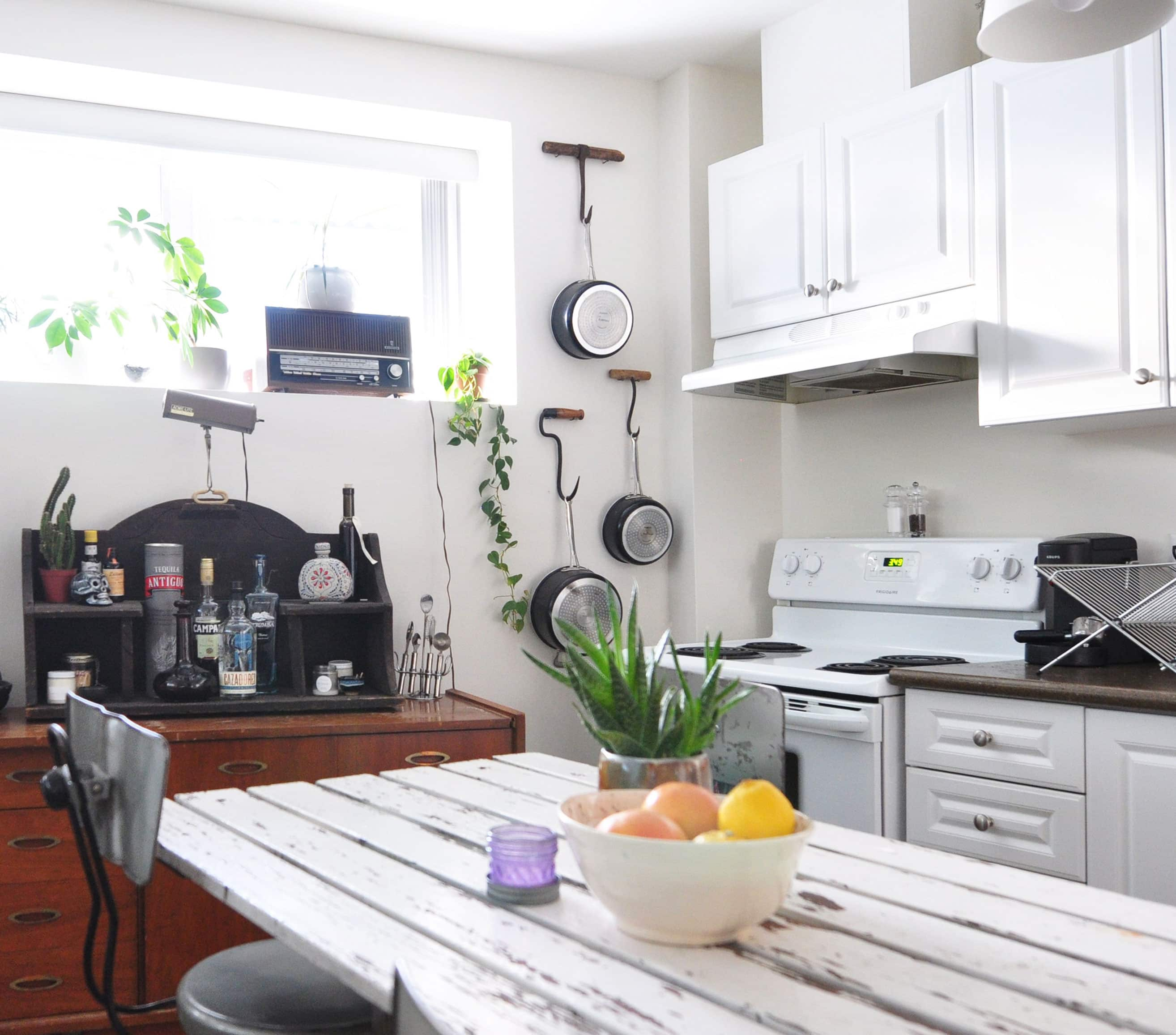 Ideas For Hanging Pots & Pans From Real Homes