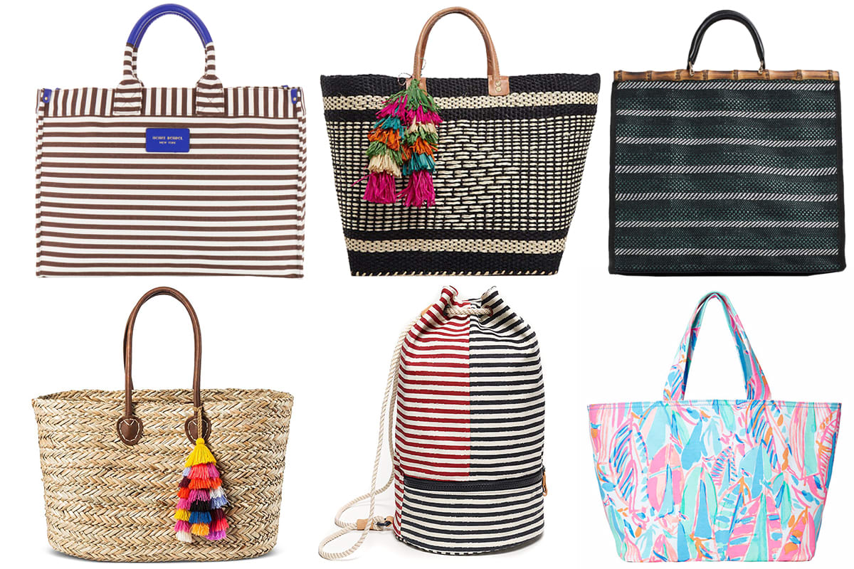 59516f21de This Summer s Best Beach Bags  From Fashionable to Sand-Repellent ...
