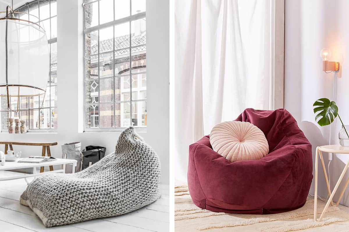 843158df10 Believe It or Not  10 Surprisingly Stylish Beanbag Chairs ...