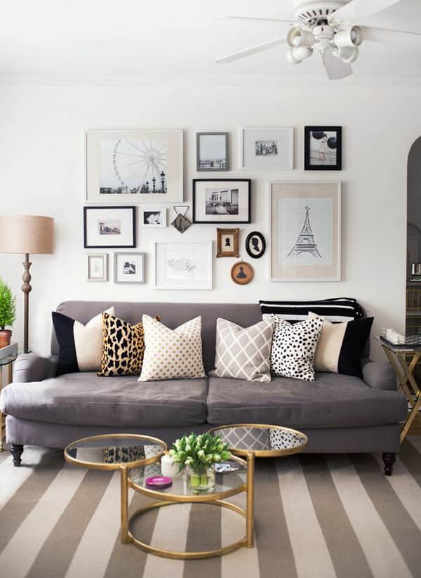 No Fail Recipes For Artfully Arranging Your Sofa Pillows Apartment