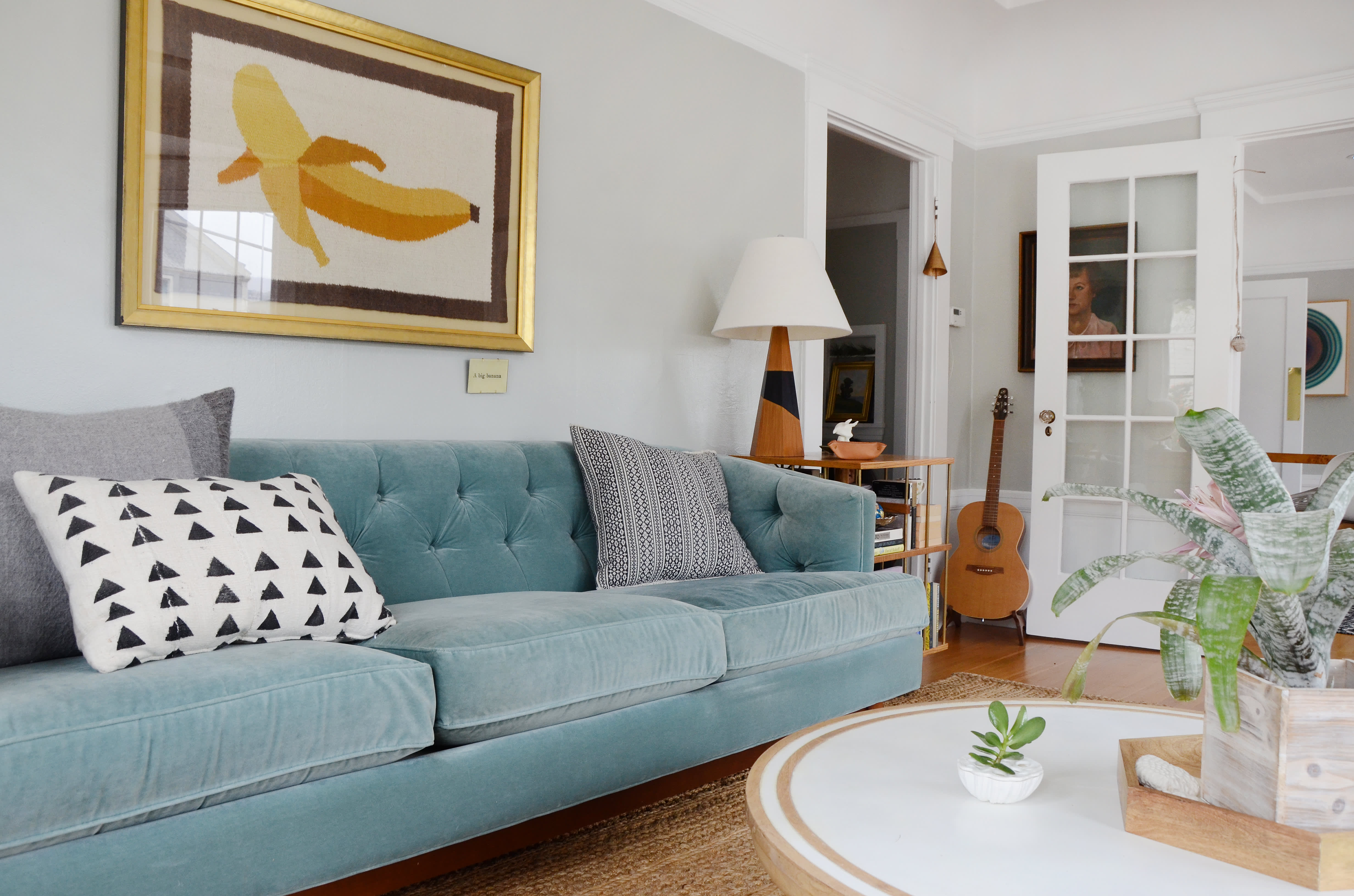 House Tour A Modern Quot Golden Girls Quot Style Apartment