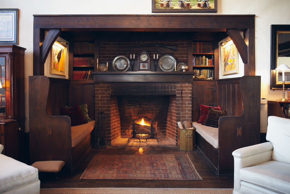 Inglenooks Fireplace Seating Photos Dream Home Details