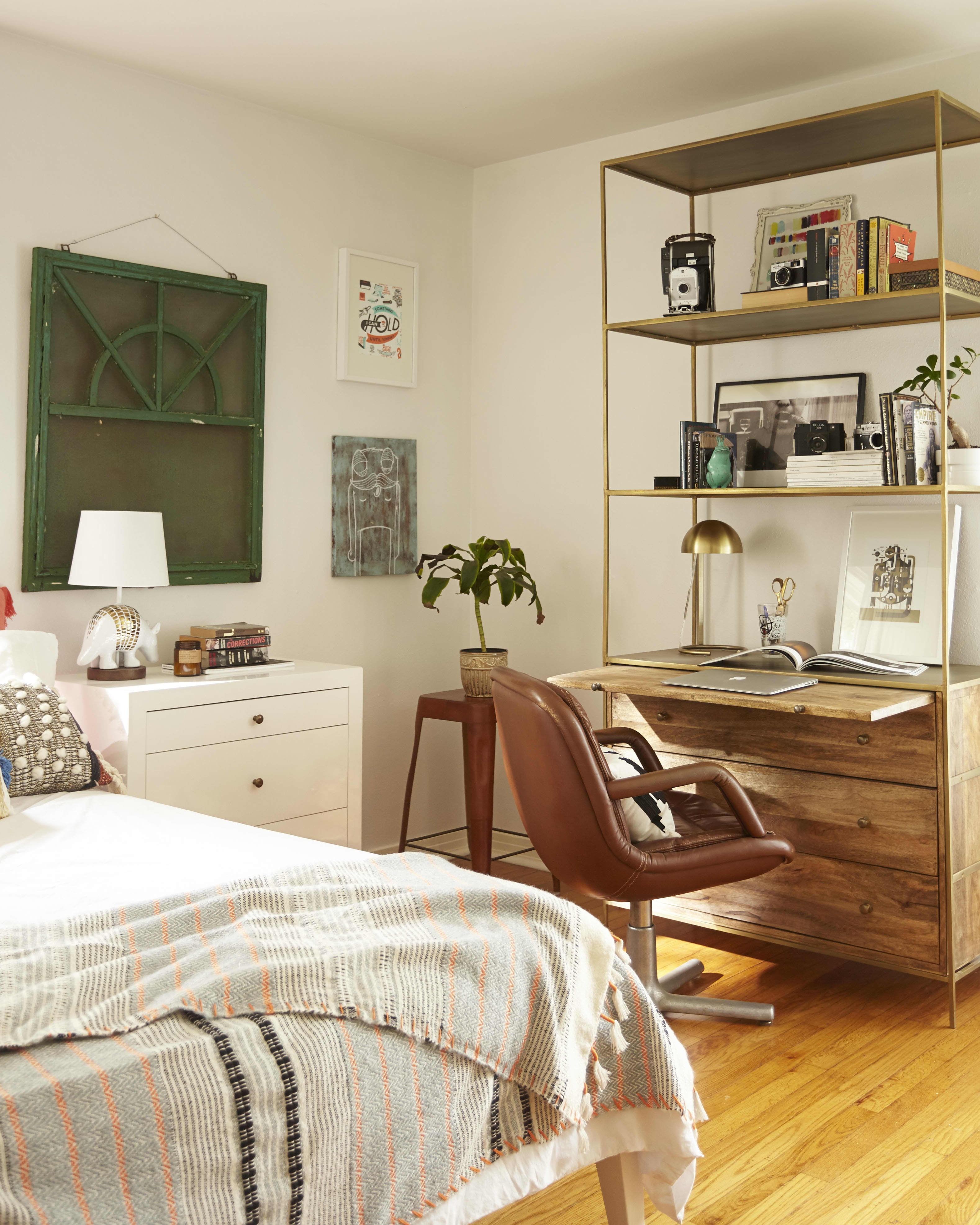 Get the Look A Texture Rich Blend of Bohemian & Mid Century Styles