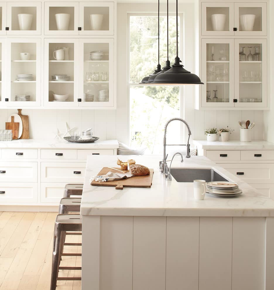 A Gallery Of Glass Kitchen Cabinet Doors That Are Gorgeous