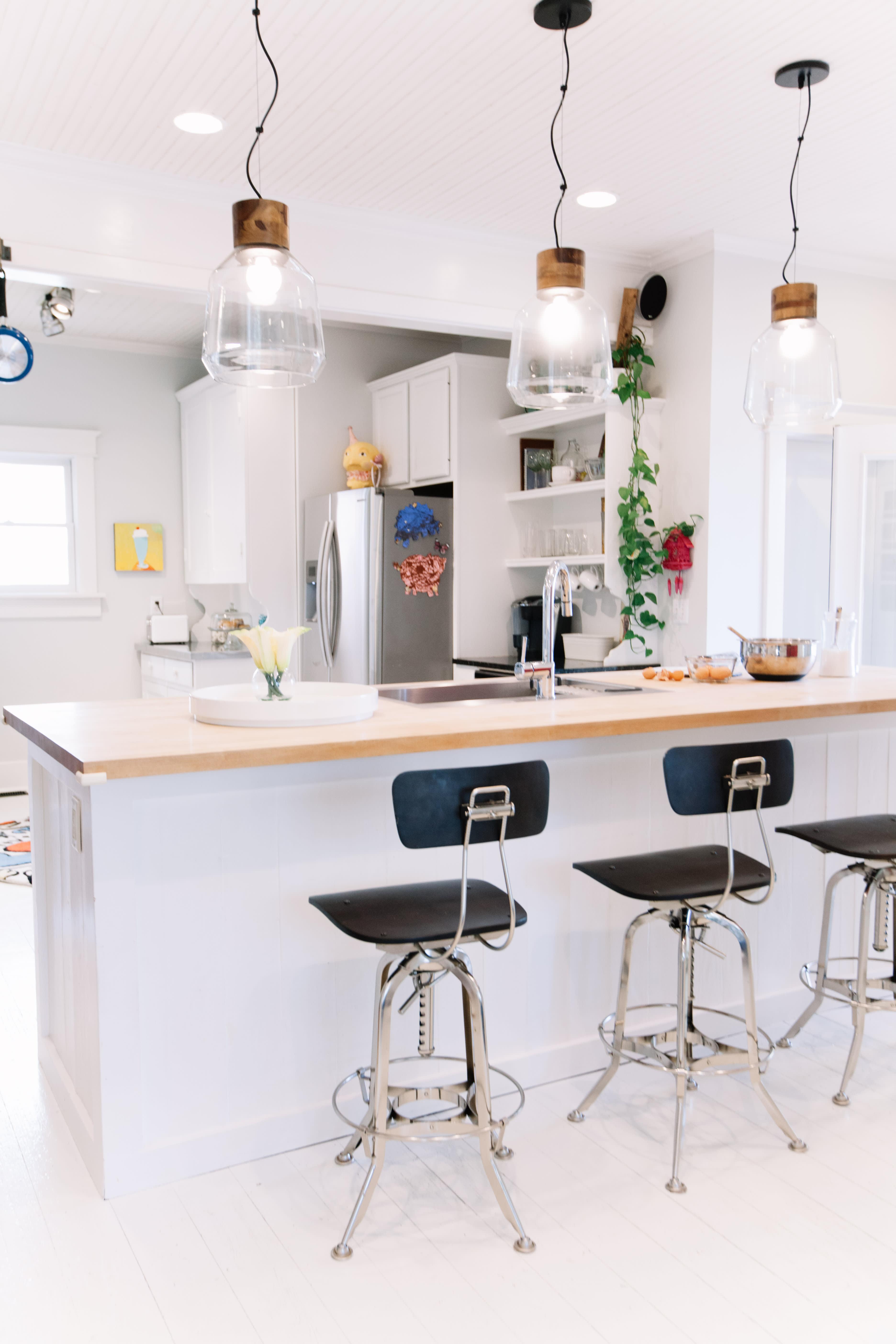 Gallery of Kitchen Island Breakfast Bar Ideas ...