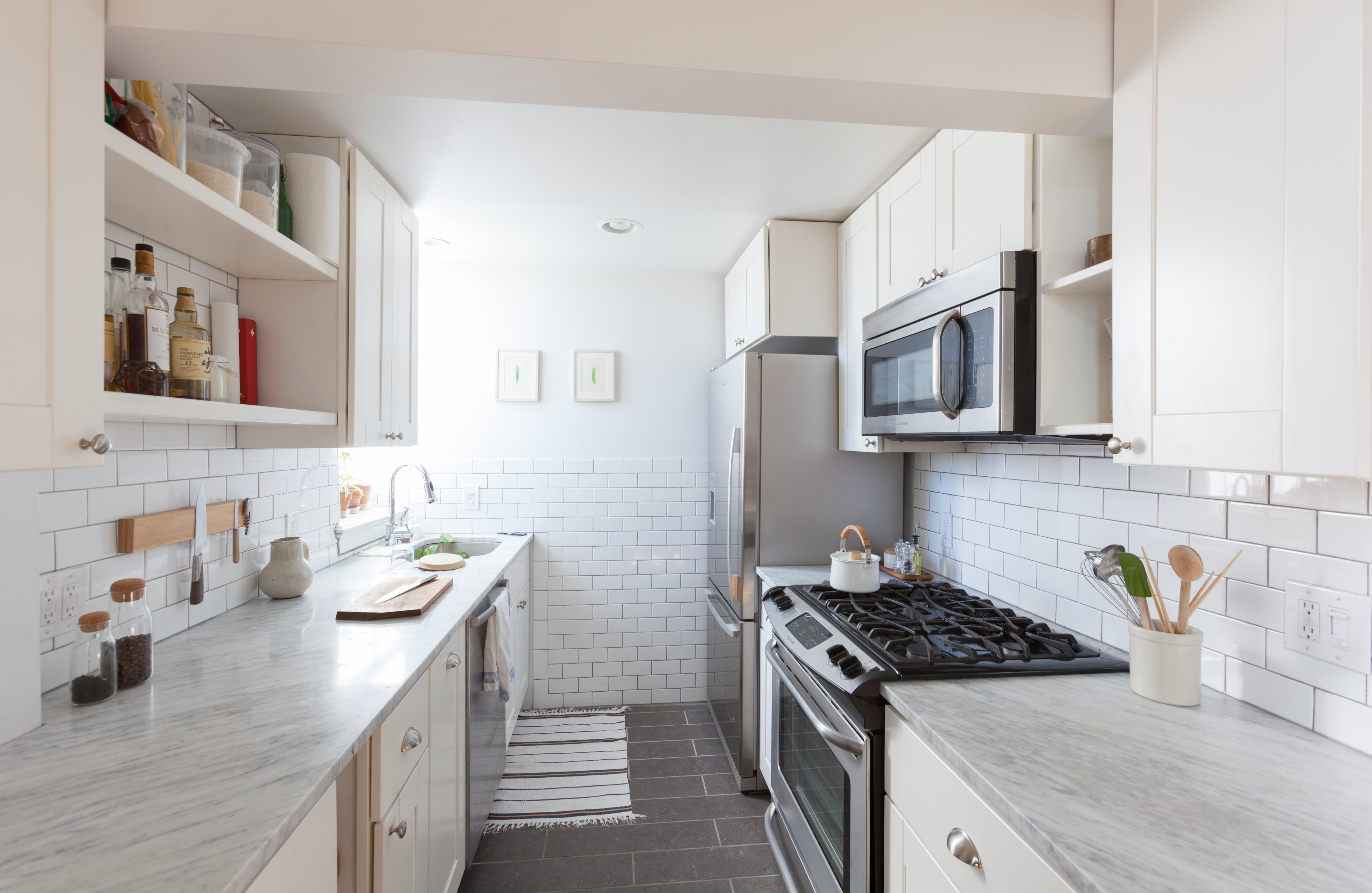 Galley Kitchen Ideas - Designs, Layouts, Style | Apartment ...